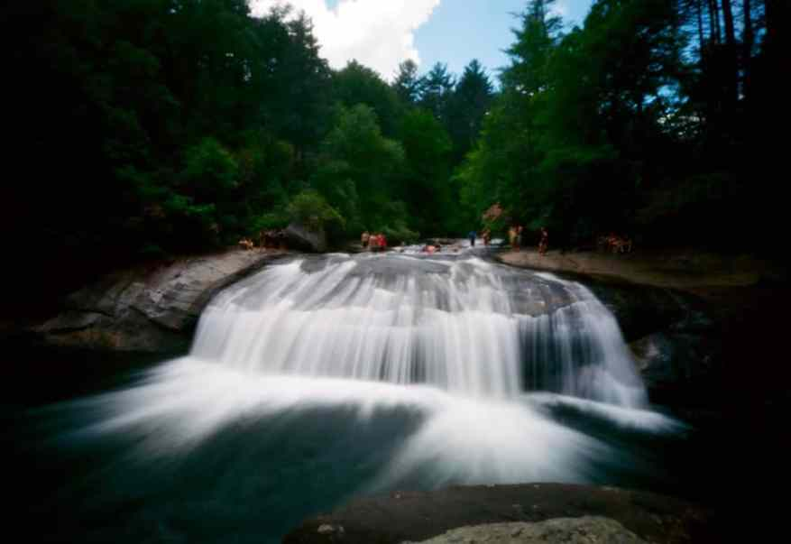 II - @3eyedmonster Cooling Off #terraPin6x9 #Ektar #pinhole #3dprintedcamera #landscape #SummerFilmParty #believeinfilm #nclife Exposure 4 seconds
