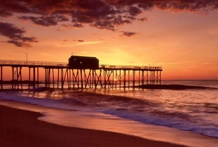 Zheng Xu - @zxuphoto Sunrise at Belmar beach @summerfilmparty #nikonf100 #Fujifilm #velvia50 #35mmfilm Category: Landscape #SummerFilmParty #believeinfilm