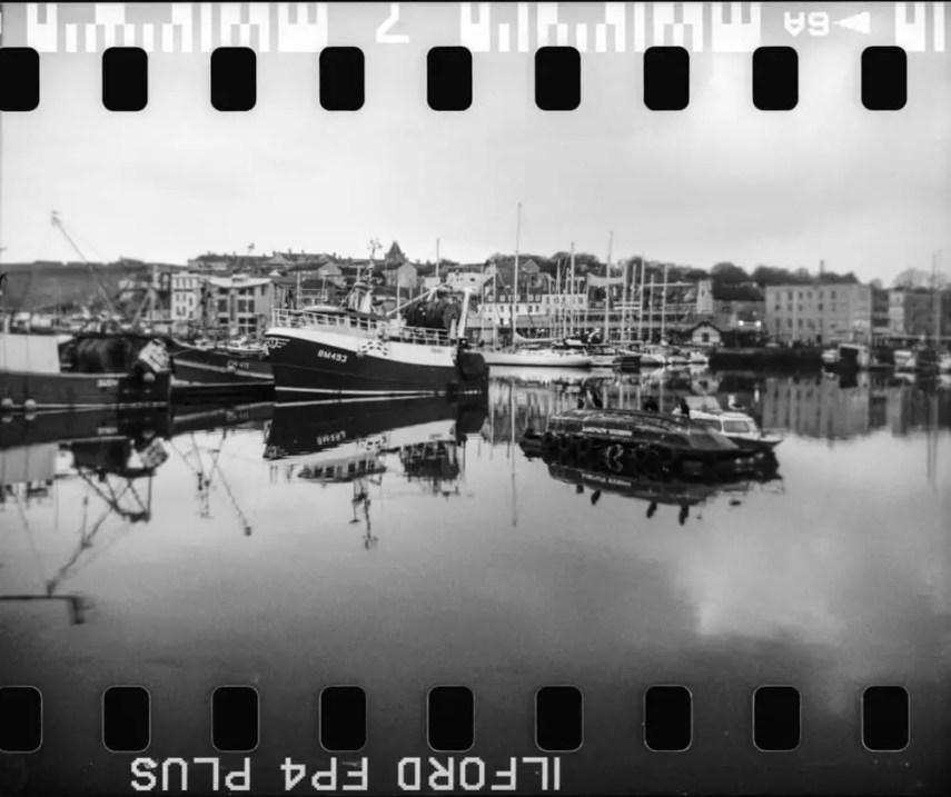 Kodak Reflex - ILFORD FP4+ (x2 exposures)