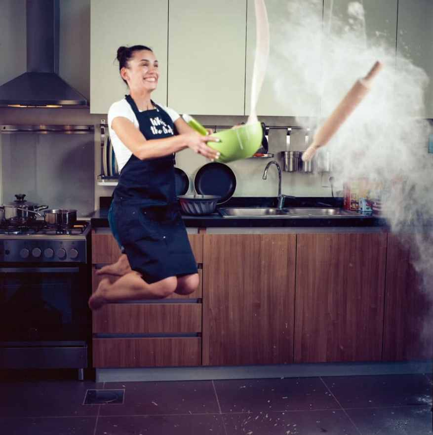 Adib Mufty™‏ - @AdibMufty Baking in Zero Gravity!! #SummerFilmParty Category: Home {#Hasselblad 500cm, #Kodak ektar 100} #FilmPhotography