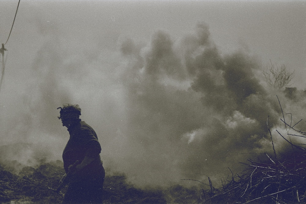 Apocalypse Mom – Praktica MTL 5B + Pentacon 50mm f/1.8 + Efke 100 (developed in Rodinal)