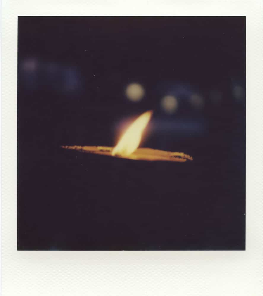 """Untitled"", Impossible 600 film in Polaroid SX70 (with exposure filter and compensation)."