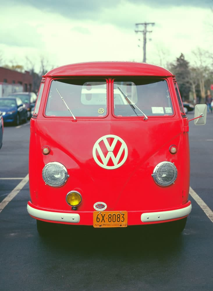 VW Bus on KODAK EKTACHROME 100 VS