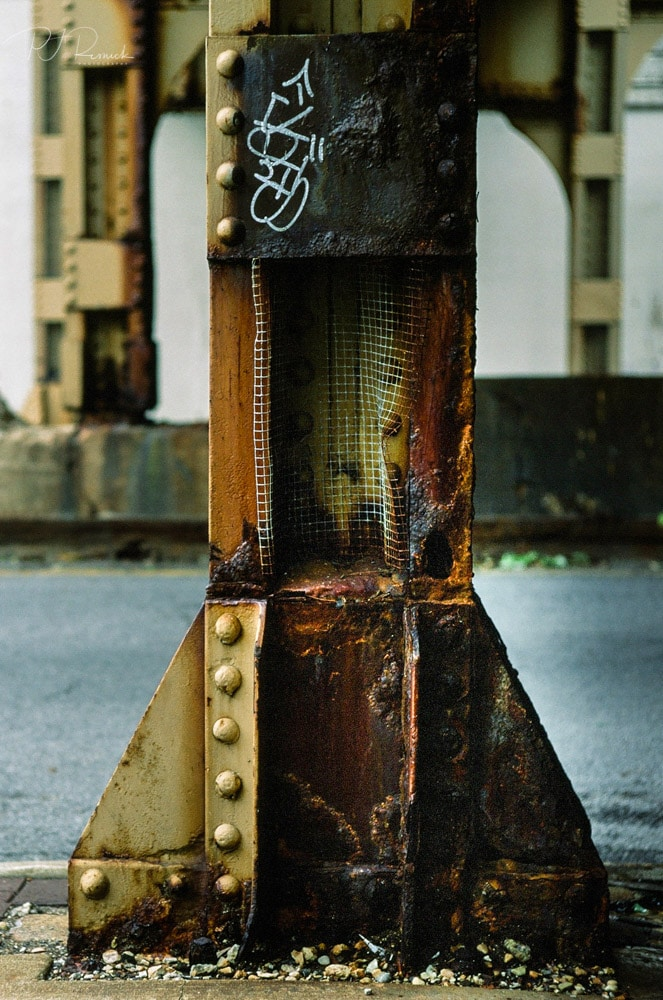 Evanston Infrastructure - Evanston IL, Leica M6 TTL, Summicron 50mm, Fujichrome Velvia 50