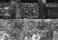 Panels - Shot on Silberra ULTIMA 200 at EI 200. 35mm black and white format film. Orange #25 filter. Leica M6 / Leica Tele-Elmarit 90mm f/2.8.