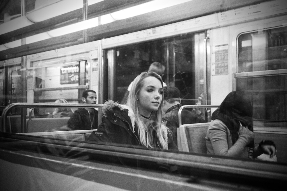 Grégoire Huret - Subway - Paris 2017