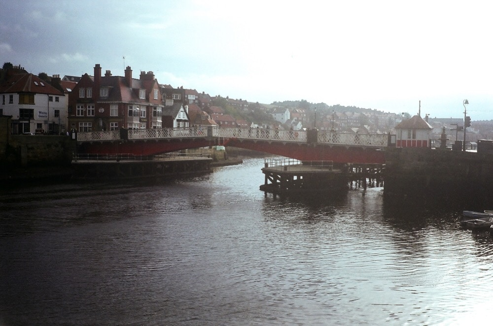 Whitby Harbour October 2015 - Olympus Trip, two years later I forget the film type. Probably Agfa 200 or 400.