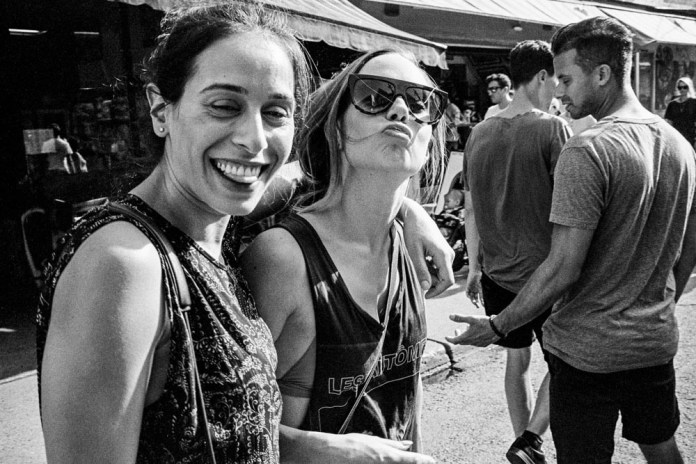 Friends, Kensington Market Leica M-A Kodak Tri-X