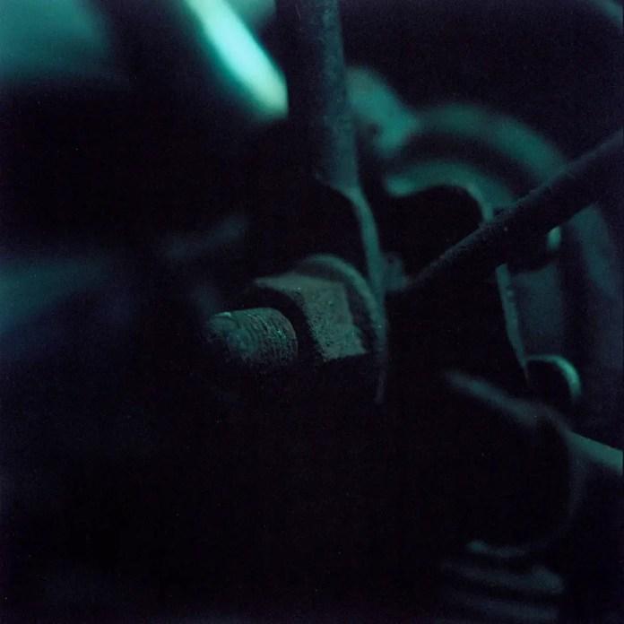 Blue bolt - Shot on Kodak Portra 100T at EI 100. Color negative film in 120 format shot as 6x6.