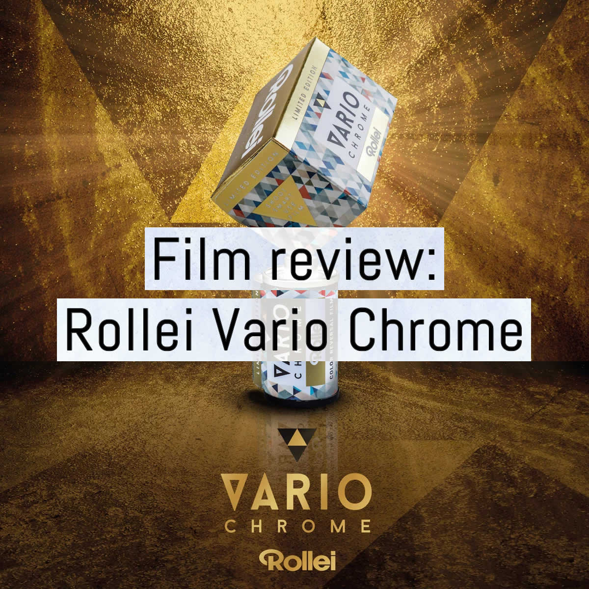 Film review: Rollei Vario Chrome color slide film - 35mm format
