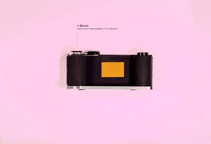 Reflex - I-Back (Daylight Interchangeable Film Back)