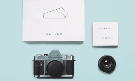 Announcing the Reflex: the first newly designed 35mm manual SLR system in 25 years