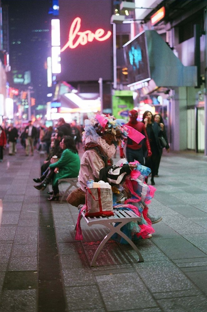 Times Square Colors