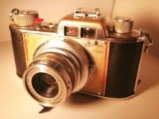Apparate & Kamerabau Akarette II - Front