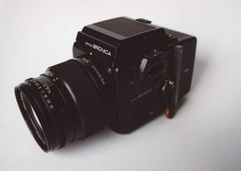 Bronica SQ-Ai - Kit (top left with Waist Level Finder)