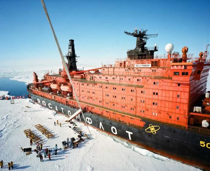 The North Pole - Mamiya 7II, Kodak Portra 400