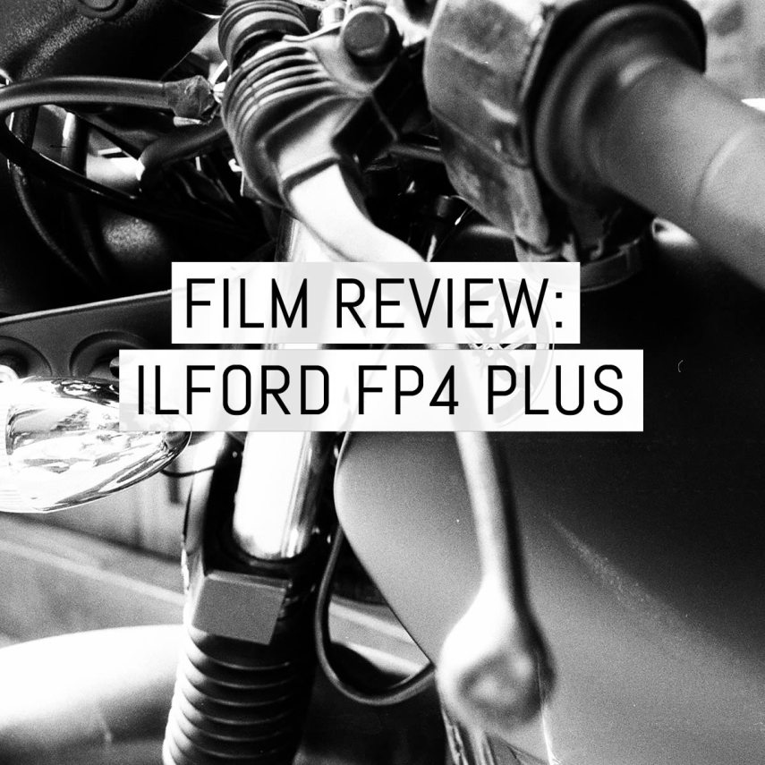 Cover - ILFORD FP4 PLUS review