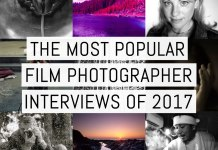 Cover - Most popular film photographer interviews 2017