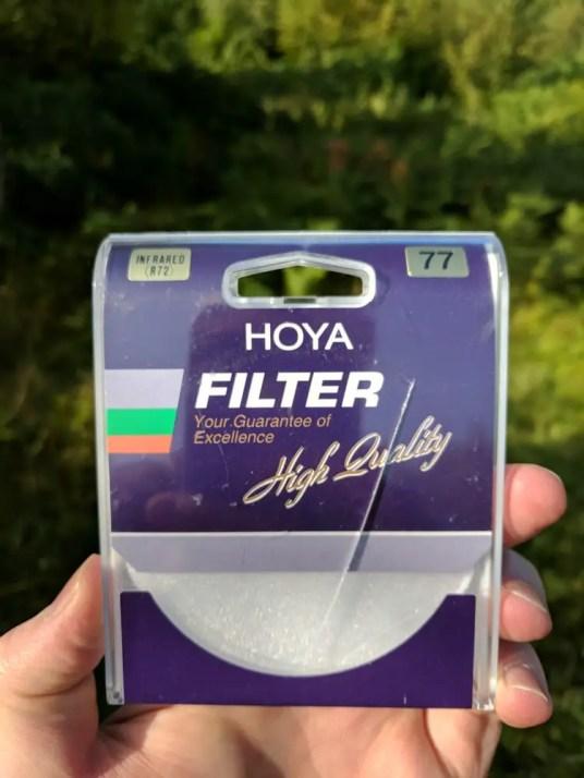 Hoya R72 filter
