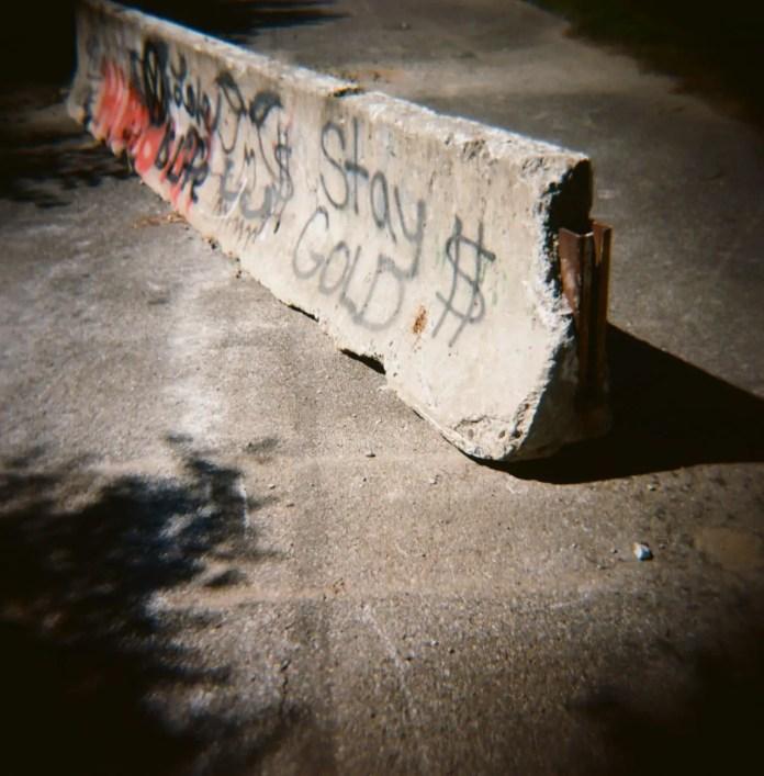 Stay Gold (Alternate Take), Kodak Ektar 100 ISO, Holga, Fink's Basin, NY