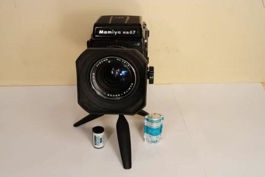 Mamiya RB67 - Front view