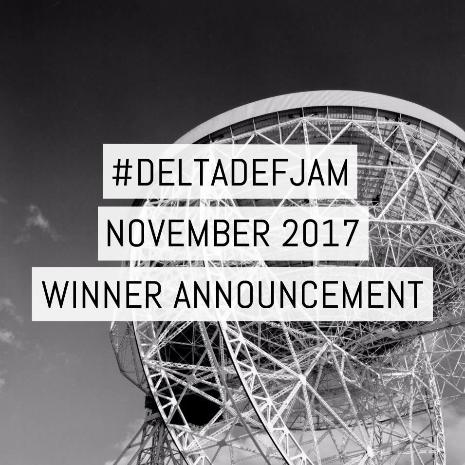 #DeltaDefJam November 2017 Winner Announcement