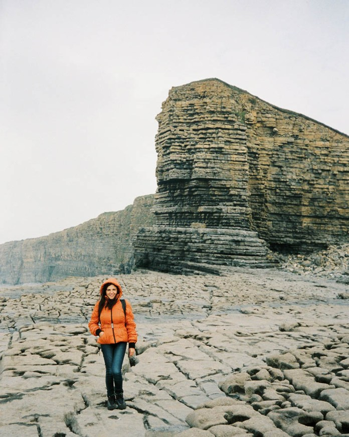 Barbara, Kodak Portra 400, Olympus 35RC, South Wales