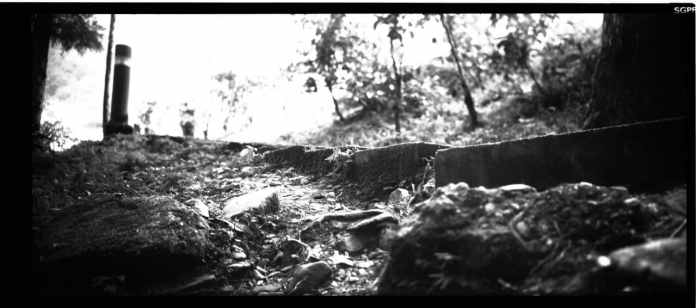 Steppps - Shot on Shanghai GP3 100 at EI 100. Black and white negative film in 120 format shot as 6x12.