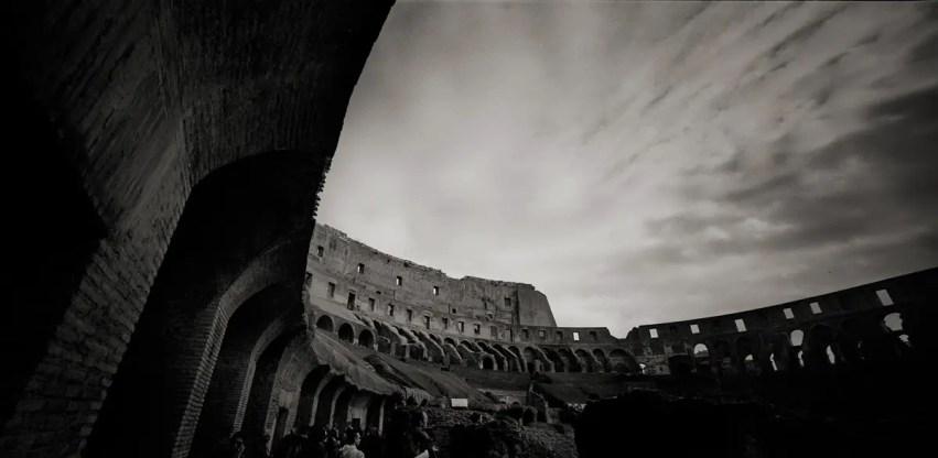 Kodak Tri-X 400 - Horseman SW 612 - Colosseum, Rome, Italy