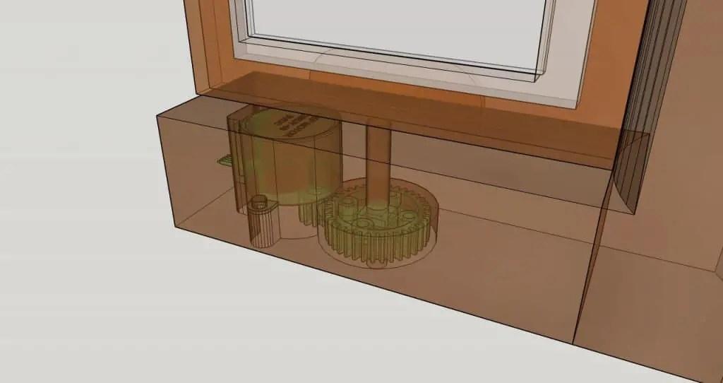 Chroma - Build 1 - Motorised tilt and swing