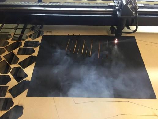 Chroma - Workshop - Cutting bellows
