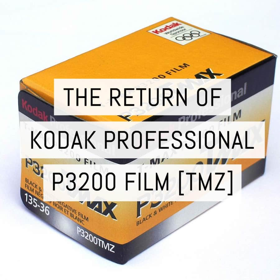 Announcing the return of KODAK PROFESSIONAL T-MAX P3200 film!