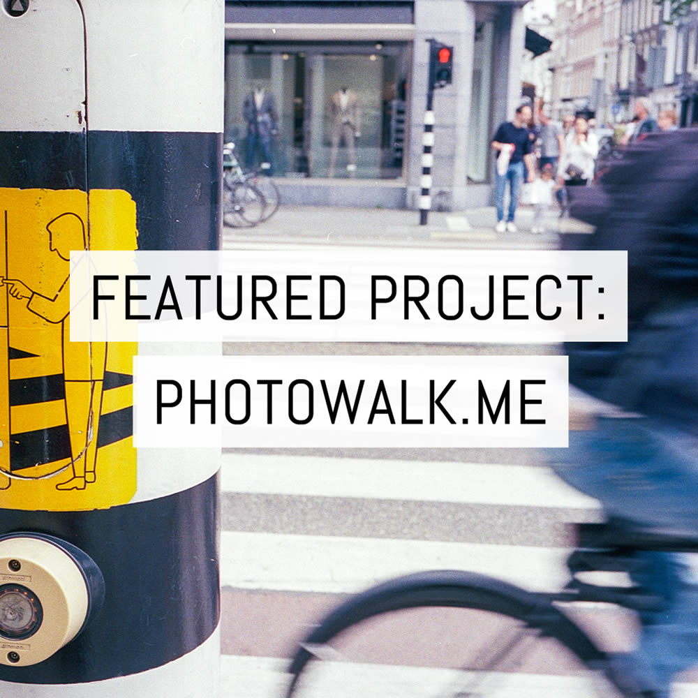 Featured project: Photowalk.me - Creativity can take many forms - by Martin Smith