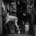 Hard grind - Shot on Kodak BW400CN at EI 400. Black and white negative film in 120 format shot as 6x6.