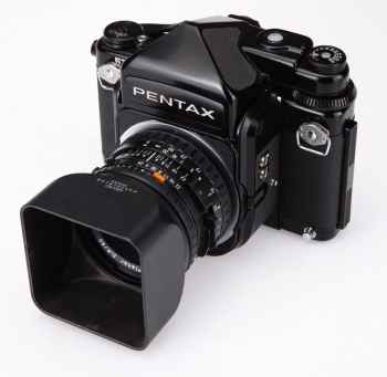 Pentax 67 modified to Hasselblad V Mount - Litzst on eBay