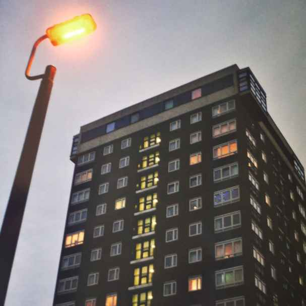 Liverpool Tower Block, 2014. Shot on Olympus Trip 35, Agfa Vista 200 Plus