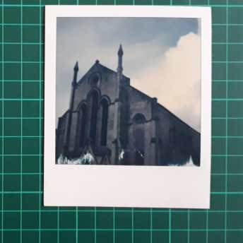 Test 3: Original Polaroid, pre-lift