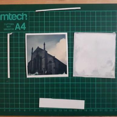 Tutorial step 1: final cut pieces