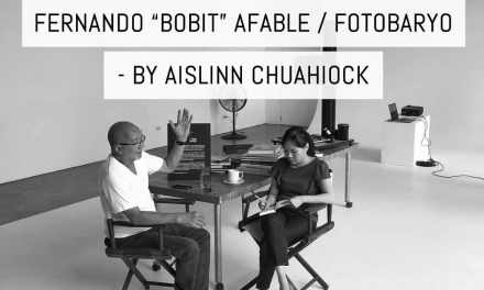 "In conversation with: Fernando ""Bobit"" Afable / Fotobaryo – by Aislinn Chuahiock"