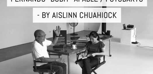 """Cover: In conversation with: Fernando """"Bobit"""" Afable / Fotobaryo - by Aislinn Chuahiock"""