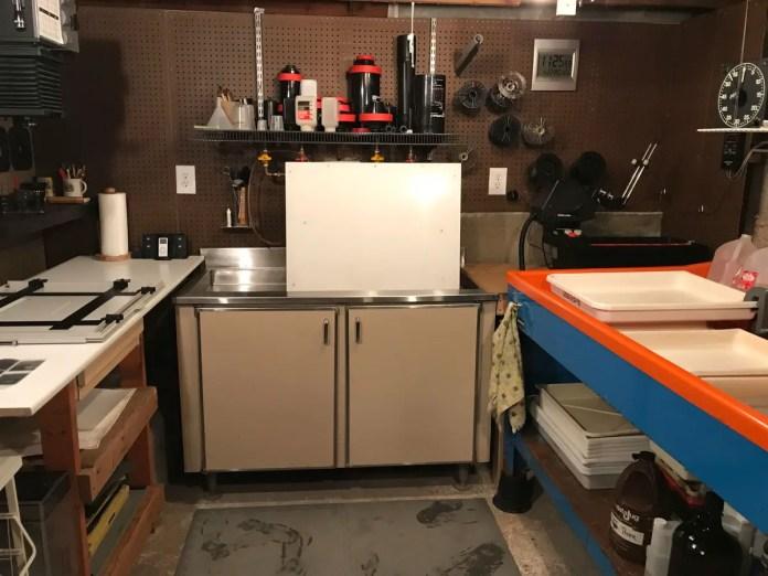 Print inspection area