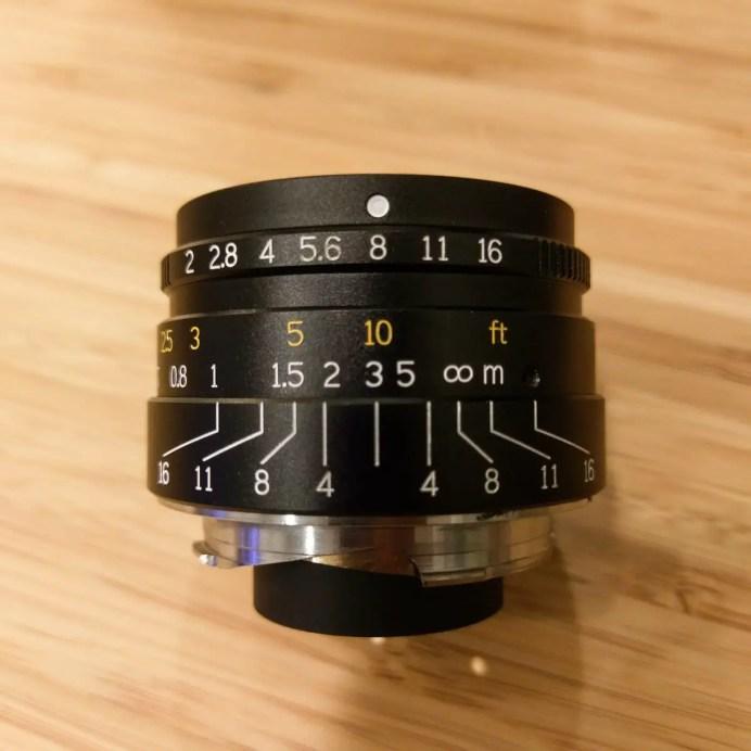 7artisans 35mm f2 - DoF at f/8