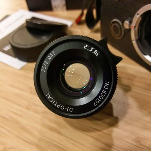 7artisans 35mm f2 - front