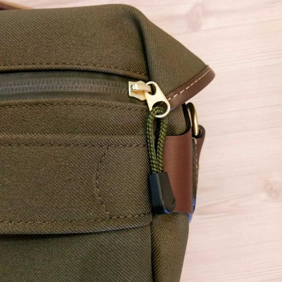 Billingham Hadley Small Pro - Rear zip