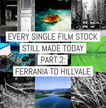 Cover - Every Film Stock Still Made 2- Ferrania to Hillvale