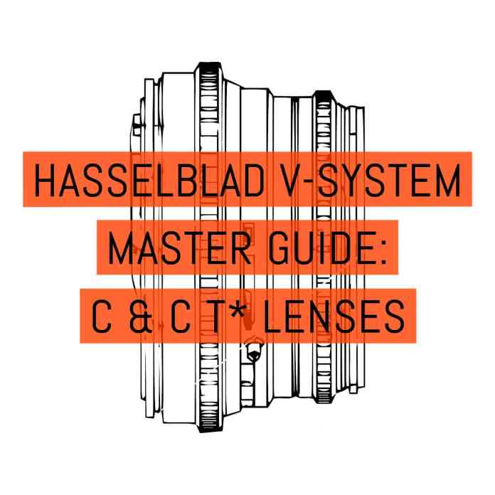 Cover - Hasselblad V-System Master Guide - Lenses C + CT* Lenses