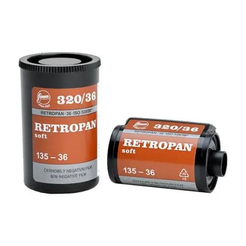 Foma Retropan 320 Soft