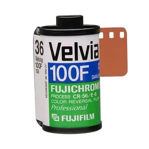 Fujifilm Velvia 100F