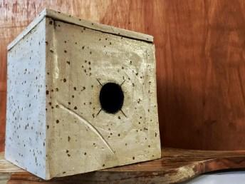 The Ceramic Pinhole Project - Finished ceramic pinhole camera (no lens 01)