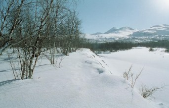 Snowy Kungsleden